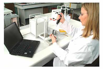 Manutenção e calibração de pipetas, pipeta Gilson
