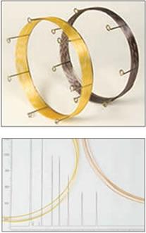 Colunas capilares para GC, cromatografia a gás