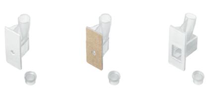 Citofunis descartáveis com papel de filtro embutido para 0,2 mL, 0,5 mL ou 6 mL de amostra.