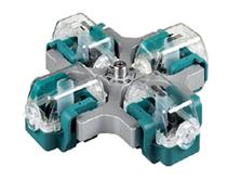 Rotor para citologia com 04 posições.