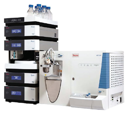 Espectrômetro de massa ion trap LCQ Fleet
