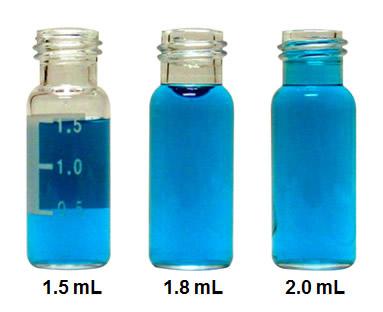 Vials volume 2 mL da Sun-Sri são padrões para cromatografia, compátivel com os amostradores automáticos das marcas Agilent, Gilson, Merck, Hitachi, Leap Technologies, Perkin-Elmer, Tekmar, Thermo Scientific, Shimadzu, Varian, Spectra-Physics, TSP, Beckman, LDC e Waters.