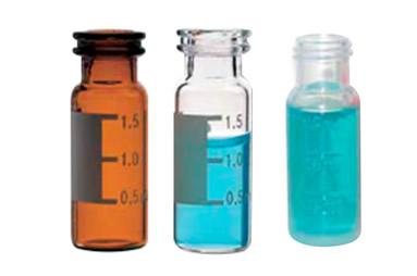 Os vials da Sun-Sri são fabricados em vidro borosilicato  transparente Tipo 1 Classe A, âmbar Tipo 1 Classe B ou em polipropileno.
