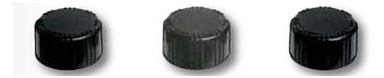 Tampas para vials de armazenamento de amostras