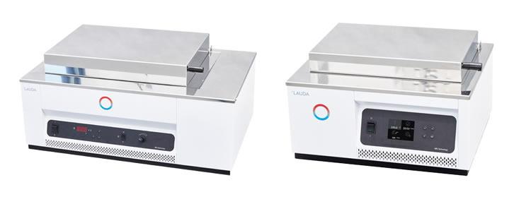 Banhos-Maria para laboratório, até 100 °C, com possibilidade de shaker e refrigeração – linha Hydro