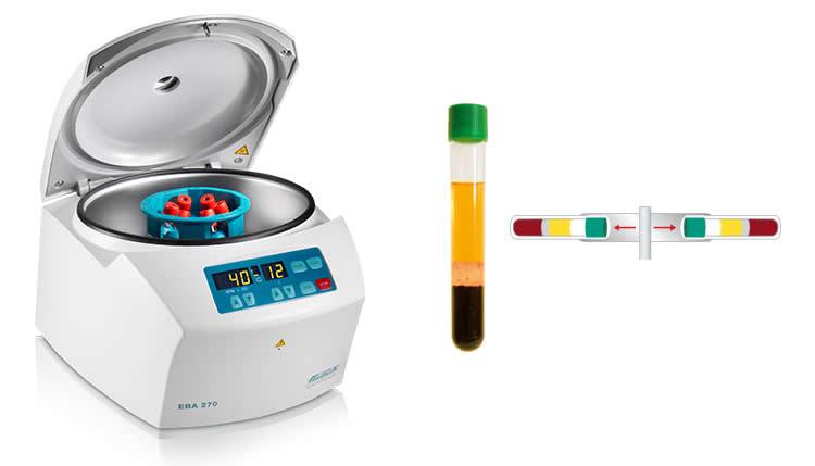 Centrífuga para laboratório