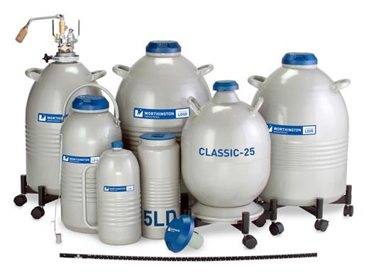 Containers de nitrogênio líquido Taylor Wharton série LD