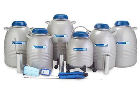 Containers para armazenamento de amostras em canister série HC