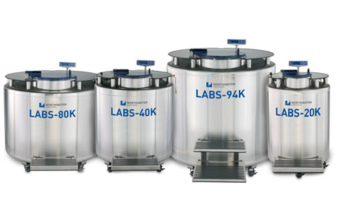 Equipamentos de grande capacidade para banco de células
