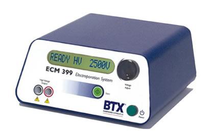 Eletroporador ECM399 para bactérias, leveduras e algumas células de mamíferos