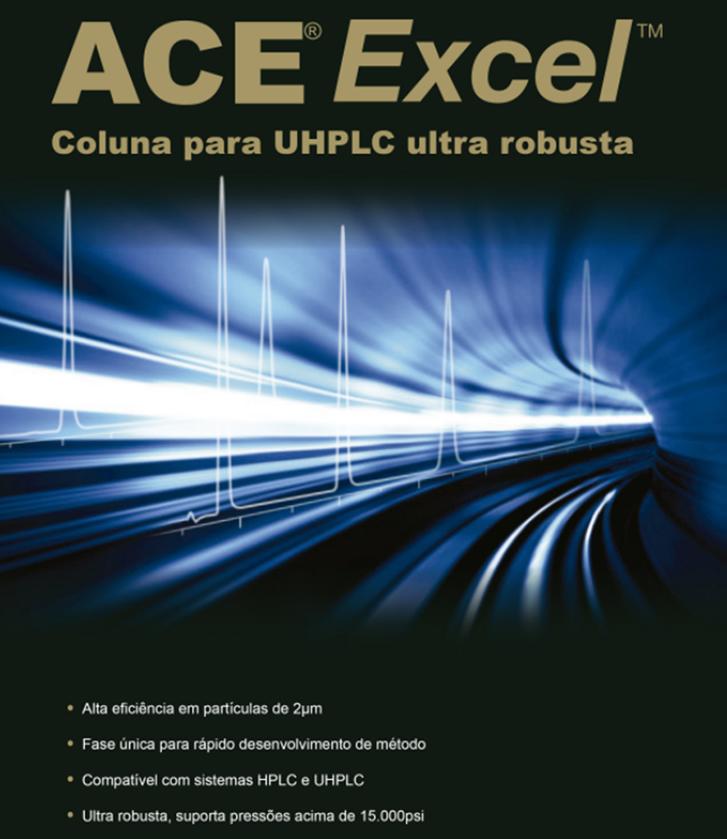 Colunas para HPLC Ace Excel
