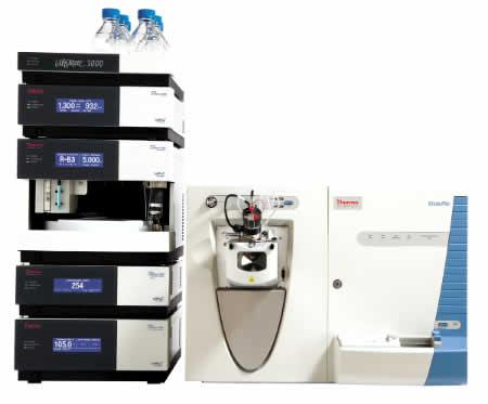 Espectrômetro de massa Velos Pro Ion Trap