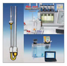 clear-view termostatos, medição da viscosidade automático sistemas e viscosímetros capilares de vidro
