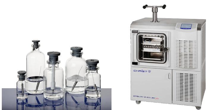 Liofilizador escala piloto – capacidade para até 6 kg de gelo (Epsilon 2-6D LSCplus)