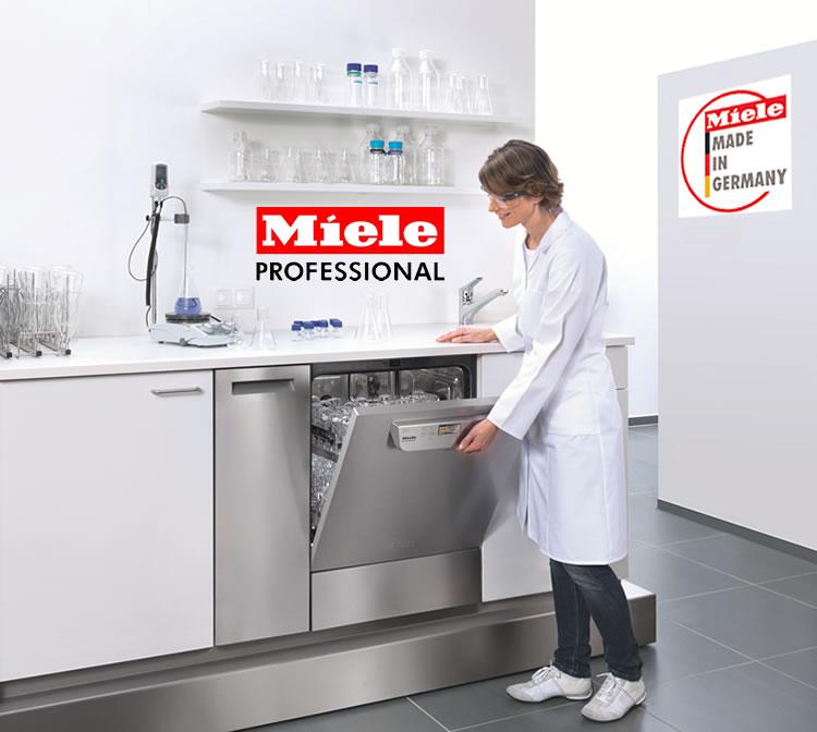 Lavadora de vidraria para laboratório Miele