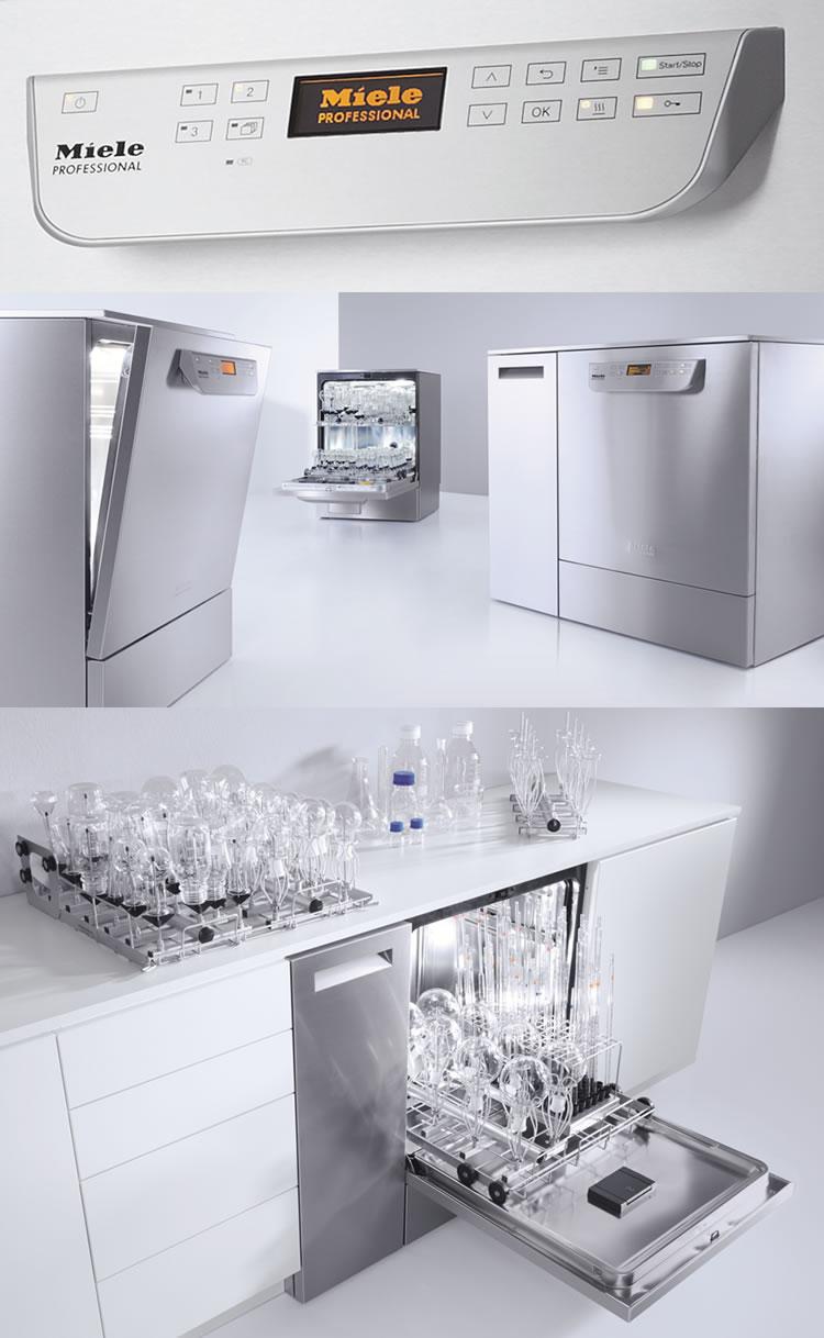 Lavadora de vidraria para laboratório