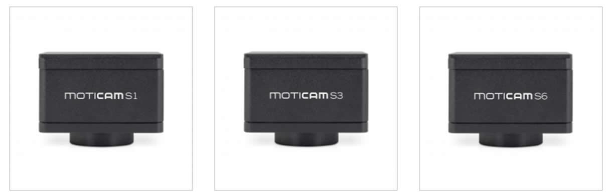 Câmera para microscópios