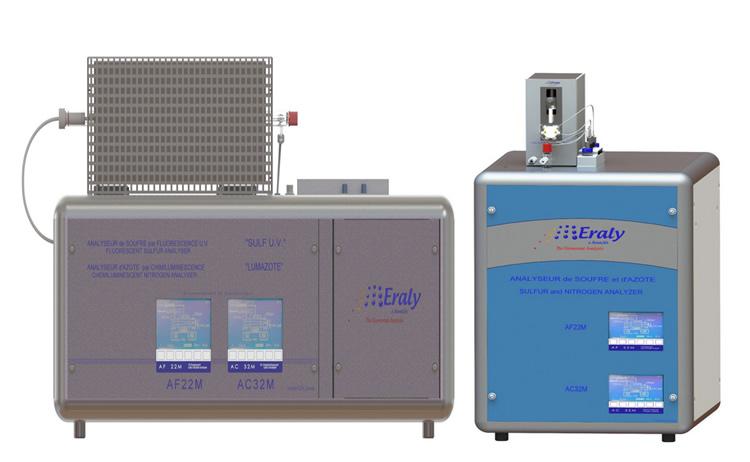 Analisador elementar para nitrogênio total e enxofre total - SULUM NS