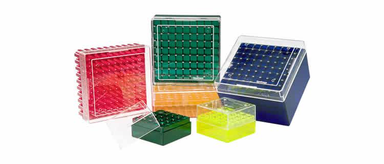 Criobox para tubos - 25, 81 e 100 posições