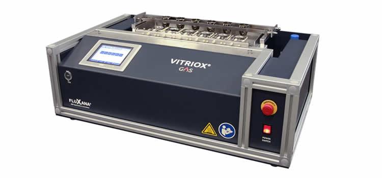 máquina de fusão a gás com automação frio a frio e até 6 posições