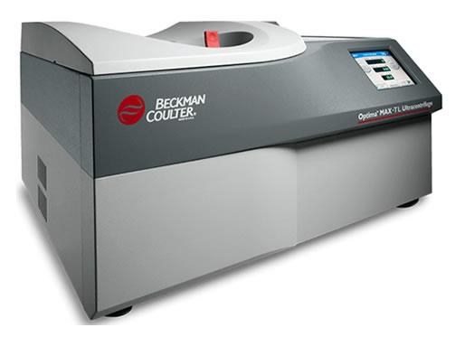 Ultracentrífuga para laboratório, refrigerada