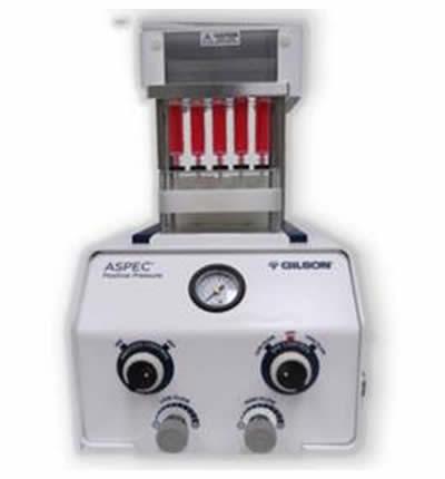 sistema semi-automático para filtrar amostras