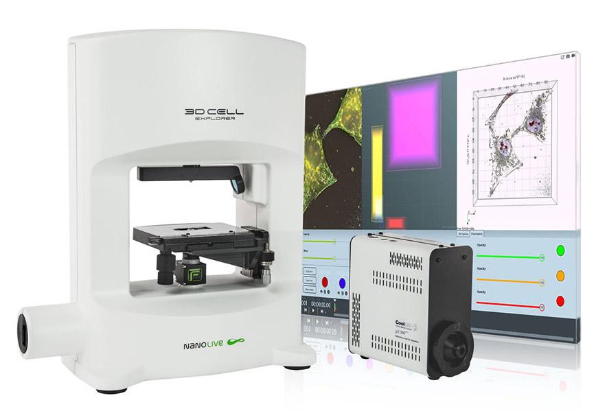 Microscópio 3D