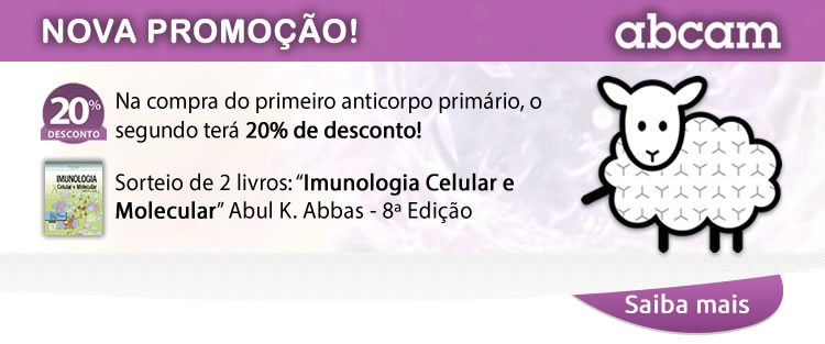 Na compra do primeiro anticorpo primário, o segundo terá 20% de desconto!