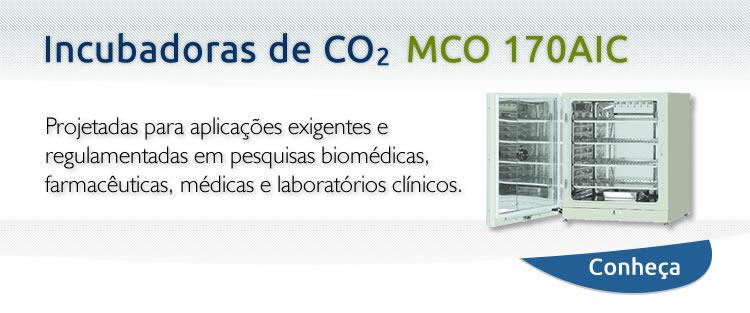 Incubadora de CO2 - MOC170AIC